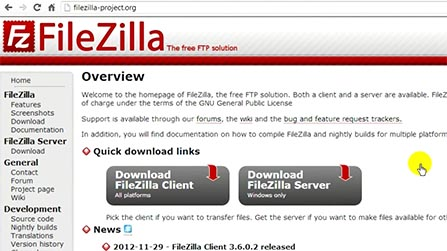 Deleting and Installing Filezila